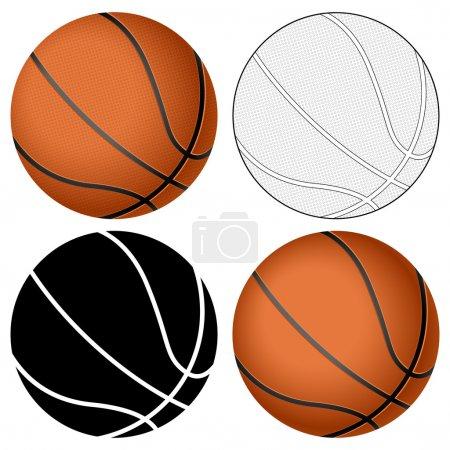 basketball ball set