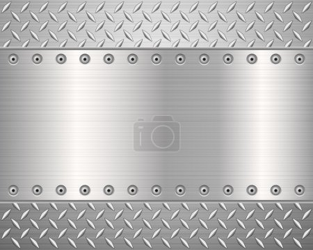 diamond metal background 2