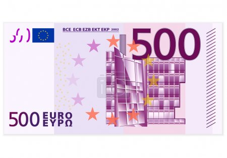 Five hundred euro banknote