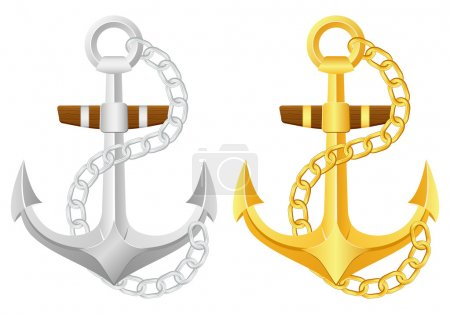 anchor with chain set