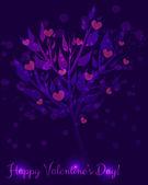 Abstraktní Valentýna strom