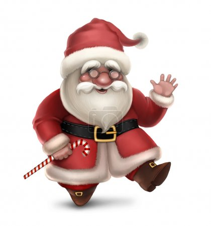 Photo for Illustration of Santa Claus - Royalty Free Image