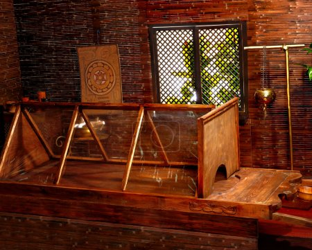 Hindu ayurveda massage sauna.