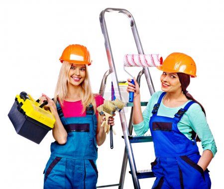 Female builder Couple