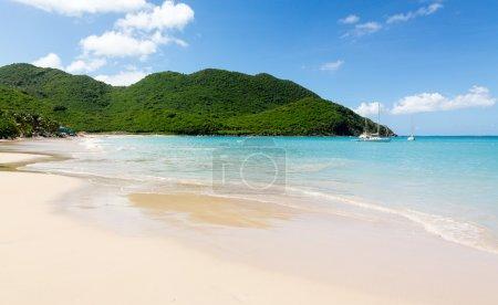 Glorious beach at Anse Marcel