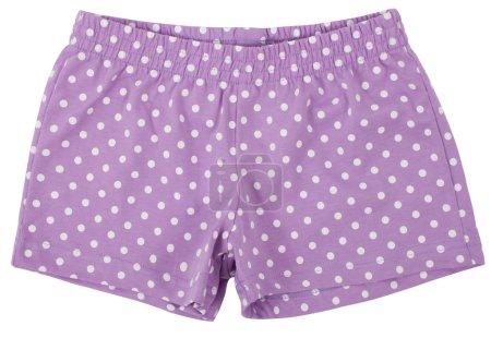 Womans shorts . Isolated on white background.