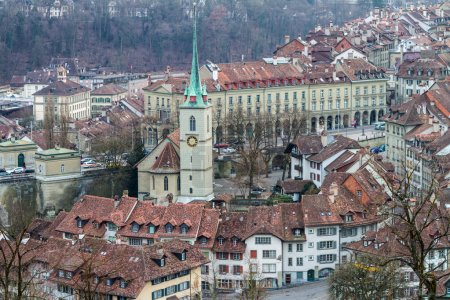 Houses in the City of Bern, Swiss