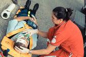 Záchranný tým, poskytnutí první pomoci