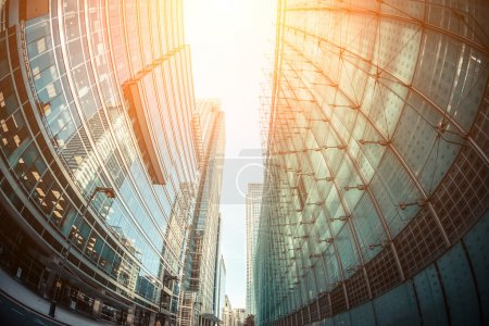 Photo for Canary Wharf, Financial District in London - Royalty Free Image