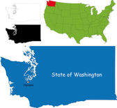 Washington mapa