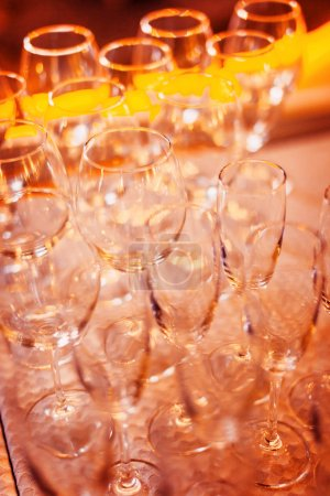 Photo for Lots of wine glasses - Royalty Free Image