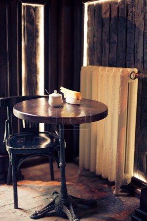 Photo pour Vieux café - image libre de droit