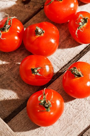 Photo for Fresh cherry tomatoes - Royalty Free Image