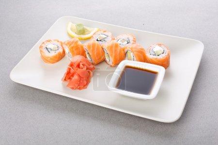 Photo pour Nourriture japonaise traditionnelle - image libre de droit