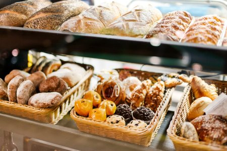 Photo for Bakery on market - Royalty Free Image