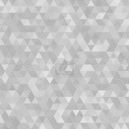 Gray grunge triangles abstract background
