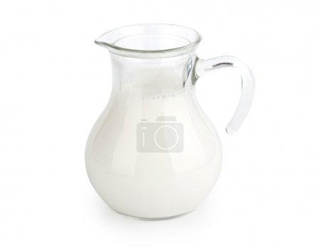 Milk Isolated on white background
