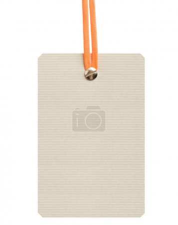 label. Tag isolated on white background