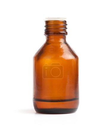 Photo for Medicine bottle isolated on white - Royalty Free Image