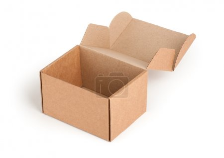 Photo for Cardboard box - Royalty Free Image