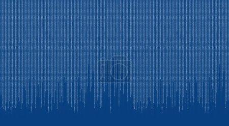 Photo pour Code binaire - image libre de droit