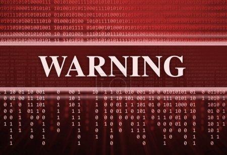 Photo pour Antivirus. Code binaire, arrière-plan technologique - image libre de droit