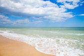 sand beach of Adriatic Sea, Italy