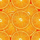 Seamless texture of juicy oranges