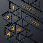 modern infographic realistic design elements