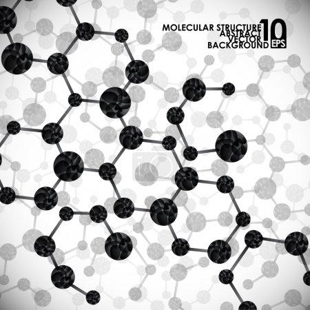 Molecular structure background