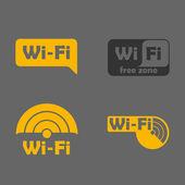 Free Zone wi-fi sticker