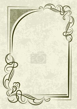 Illustration for Retro-styled background - Royalty Free Image