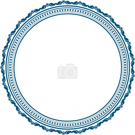 Illustration for Vintage round frame - Royalty Free Image