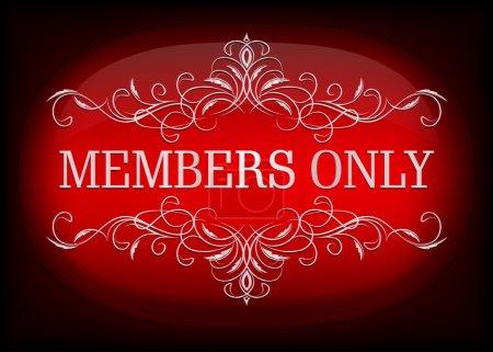 Design VIP. Membres seulement .