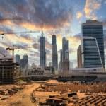 Grandiose construction in Dubai, the United Arab E...