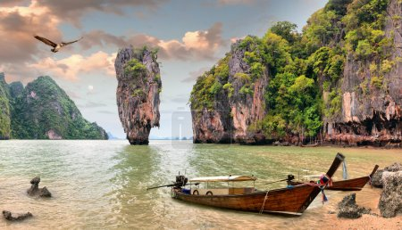 Photo for James Bond Island, Phang Nga in Thailand - Royalty Free Image