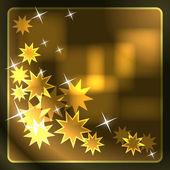 Glowing translucent stars