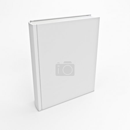 Photo for 3d image of white book empty cover - Royalty Free Image