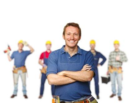Arbeiterteam