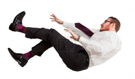 man fall