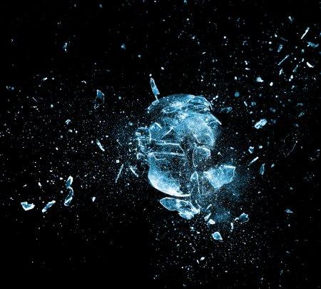 Explosión de vidrio