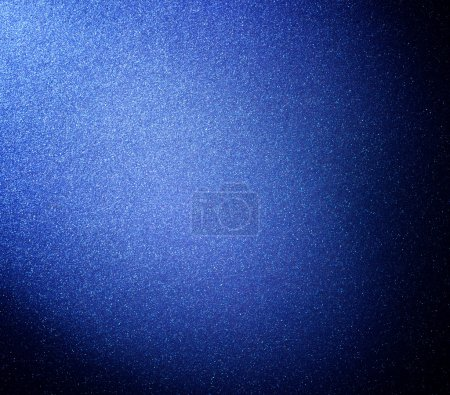 Photo for Closeup image of blue alunimun background - Royalty Free Image