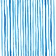 Watercolor stripes pattern. Drawing by hand. Vecto...