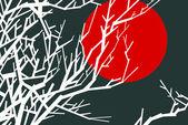Japanese theme illustration