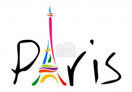 paris theme print
