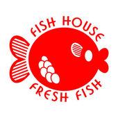 Fish house emblem