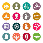 Halloween theme icons