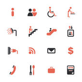 Airport services icons