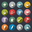 Cooking icon set...