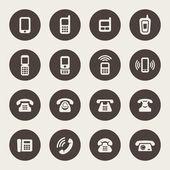 Telefon ikon készlet